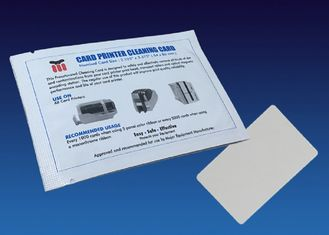 China Simple Card Reader Cleaning Card , Diamond Flocked Printer Cleaning Card supplier