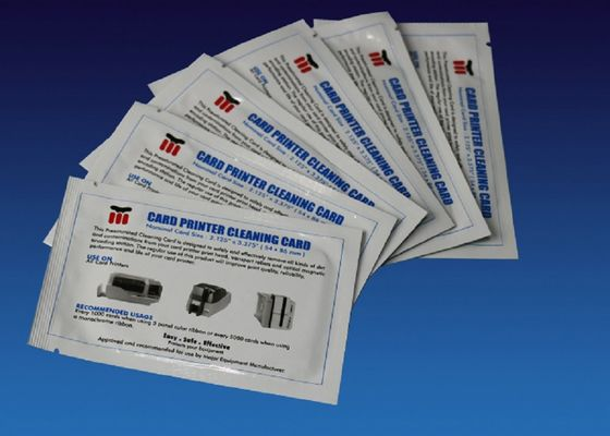 China Regular CR80 Cleaning Card Cleaning Swabs Kit 104599-400 Spunlace Material supplier