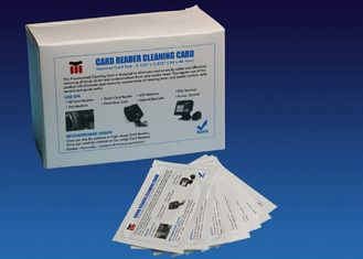 China Daily Consumable Fargo Printer Head Cleaning Card CR80 With ISO9001 Certification supplier
