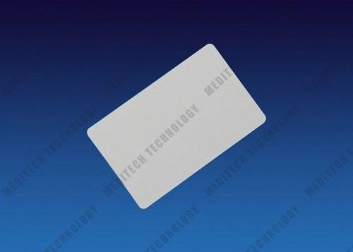 54 * 86mm CR80 Card Reader Cleaning Card With Alcohol Solution 50pcs / Box