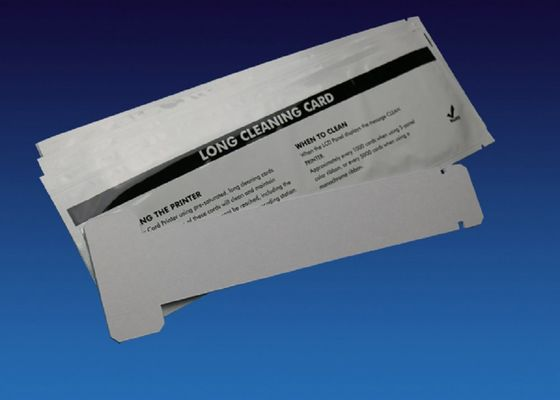 China Zebra 105912 707 Zebra Cleaning Card Long Shape For Printer Engine Cleaning factory