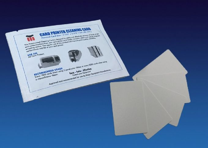 Regular CR80 Cleaning Card Cleaning Swabs Kit 104599-400 Spunlace Material